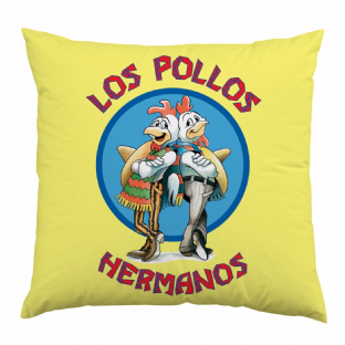 BREAKING BAD - LOS POLLOS  Double Sided Design Cushion (40x40cm) (Brand New With Tag)